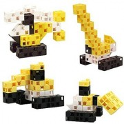 Click-A-Brick Toys Mini Machines 30pc - Building Block Set - Best Educational Gift for Boys and Girls - Gear Kids Up for
