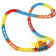 Wisamic Tumble Train Track Set 23 Tracks with Lights and Sounds