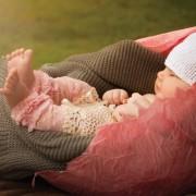 Calentador Bebé Rosa Huggalugs - Pink Lacettes