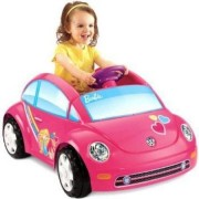 Fisher Price Power Wheels Barbie Volkswagen New Beetle 6 Volt Battery Powered Ride On