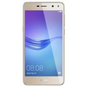 "Telefon Mobil Huawei Y6 (2017), Procesor Quad-Core 1.4GHz, IPS LCD 5.0"", 2GB RAM, 16GB Flash, 13MP, Wi-Fi, 4G, Dual Sim, Android (Auriu) + Cartela SIM Orange PrePay, 6 euro credit, 4 GB internet 4G, 2,000 minute nationale si internationale fix sau SMS nat"