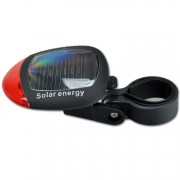 Solárne svetlo - zadný blikač na bicykel
