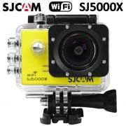 "Cámara Deportes SJCAM SJ5000X 4K WiFi 2"" 170°12MP Sports Camera-Amarillo"