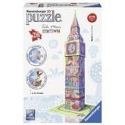 Puzzle 3D Ravensburger Big Ben Colorat 216 Piese