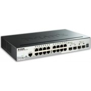 Switch D-Link 16-porturi Gigabit + 4 SFP DGS-1510-20