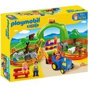 Playmobil 1.2.3 - Mi primer zoo (6754)
