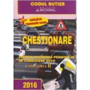 2016 Chestionare pentru obtinerea permisului auto categoria B