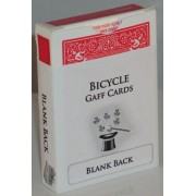 Blank Back Bicycle Deck (Red Box)