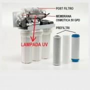 VB ITALIA Lampada UV per Impianto ad Osmosi - 12000001-02: lampada singola