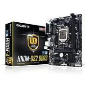 Gigabyte GA-H110M-DS2 DDR3 Scheda Madre, Nero