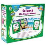 Science File Folder Games Grades K - 1 Educational Board Game by Carson-Dellosa