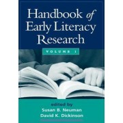 Handbook of Early Literacy Research: Volume 1 by David K. Dickinson