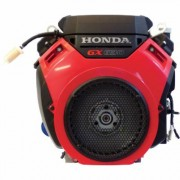 Honda Engines V-Twin Horizontal OHV Engine with Electric Start (688cc, GX Series, 1 Inch x 2 29/32 Inch Shaft, Model: GX630RHQYF)