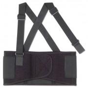 Proflex 1650 Economy Elastic Back Support, X-Large, Black