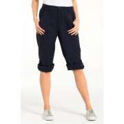 Womens Capture EziFit Crop Cargos - Sandstone