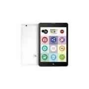Tablet Dl Tabfácil Para Idosos Com Sos, Lazer, Bate-papo, Saúde, Ligações, Jogos E 3g - Branco
