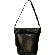 Bagged for Good BFG009BLK (Nursery/Play School) Sling Bag(Black, 10 inch)