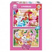 Educa Disney Hercegnők Palota kedvencek puzzle, 2x20 darabos