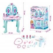Juguete Mrs Toys Tocador con Luces y sonidos-Celeste