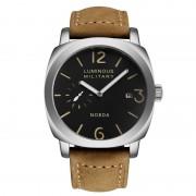 Fashion Brown Leather Strap Mens Watch Quartz Diver Dz Sport Sloar Military Watches Top Luxury Brand Clock Ar Wrist Watch 016B