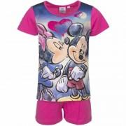 Disney Pyjama met roze korte broek Minnie Mouse