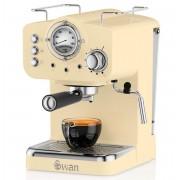 Swan Retro Espresso Koffiemachine - Cream