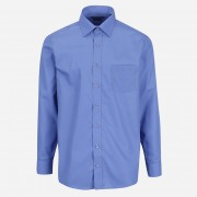 STEVULA Modrá Royal pánska košeľa, Regular fit Veľkosť: S 37/38