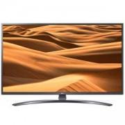 Телевизор LG 43UM7400PLB, 43 инча 4K UltraHD, 3840 x 2160, DVB-T2/C/S2, Smart webOS, ThinQ AI, WiFi, 4КActive HDR, HDMI, 43UM7400PLB