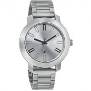 Fastrack Quartz Silver Dial Mens Watch-3120SM01