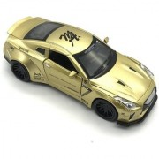 Emob Golden 132 Die Cast Metal Body Mini Auto Luxury Car Toy with Light and Sound Effects (Multicolor)