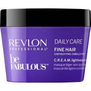 Revlon Professional Cuidado del cabello Be Fabulous Daily Care Fine Hair C.R.E.A.M. Lightweight Mask 200 ml