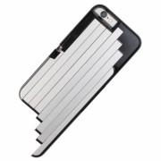 Carcasa cu selfie stick integrat pentru iPhone 6/6S (Albastru)