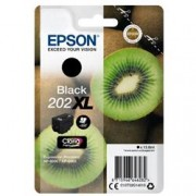 ORIGINAL Epson Cartuccia d'inchiostro nero C13T02G14010 202XL ~550 Seiten 13.8ml
