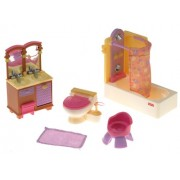 Fisher Price Loving Family Bathroom Playset