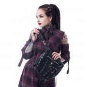 kabelka (taška) POIZEN INDUSTRIES - CORSET - BLACK - POI741