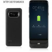 La Caja De La Batería Para Samsung Galaxy S8 Slim-fit 5000mAh Batería De Backup Externo