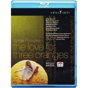 Video Delta Sergei Prokofiev - The love for three oranges - Blu-Ray
