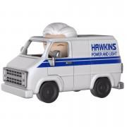 Stranger Things Brenner & Hawkins Utility Van Dorbz Ride Vinyl Figure