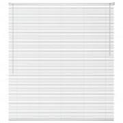 vidaXL Jaluzele de fereastră, aluminiu, 140 x 160 cm, alb