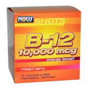 B12 SHOTS (Mixed Berry) 10,000mcg 12 Doses