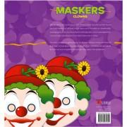 Uitgeverij Libre clowns maskers