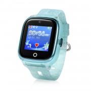 Ceas inteligent pentru copii WONLEX KT01 Verde cu GPS, camera foto, localizare WiFi, rezistent la apa, monitorizare spion