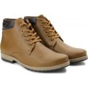 Andrew Scott 4926 Boots For Men(Beige)