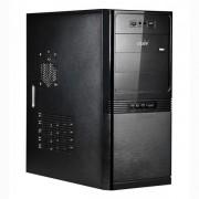 "CARCASA SPIRE ATX, front USB & audio, suport 2x 80mm fan, black, sursa 420W ""SP1075B-420W-E1"""