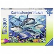 RAVENSBURGER puzzle (slagalice) - Nasmejane ajkule RA13225