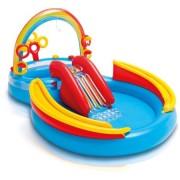 Piscina gonflabila pentru copii cu tobogan - Centru de joaca - 297x193x135 cm