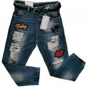 Pantaloni denim Lollitop 6 ani