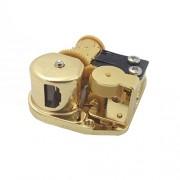 Generic Wind Up Clockwork Mechanical Music Box, Gold
