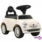 vidaXL Autić Fiat 500 bijeli