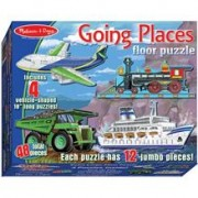 Puzzle De Podea Mijloace De Transport Melissa And Doug
